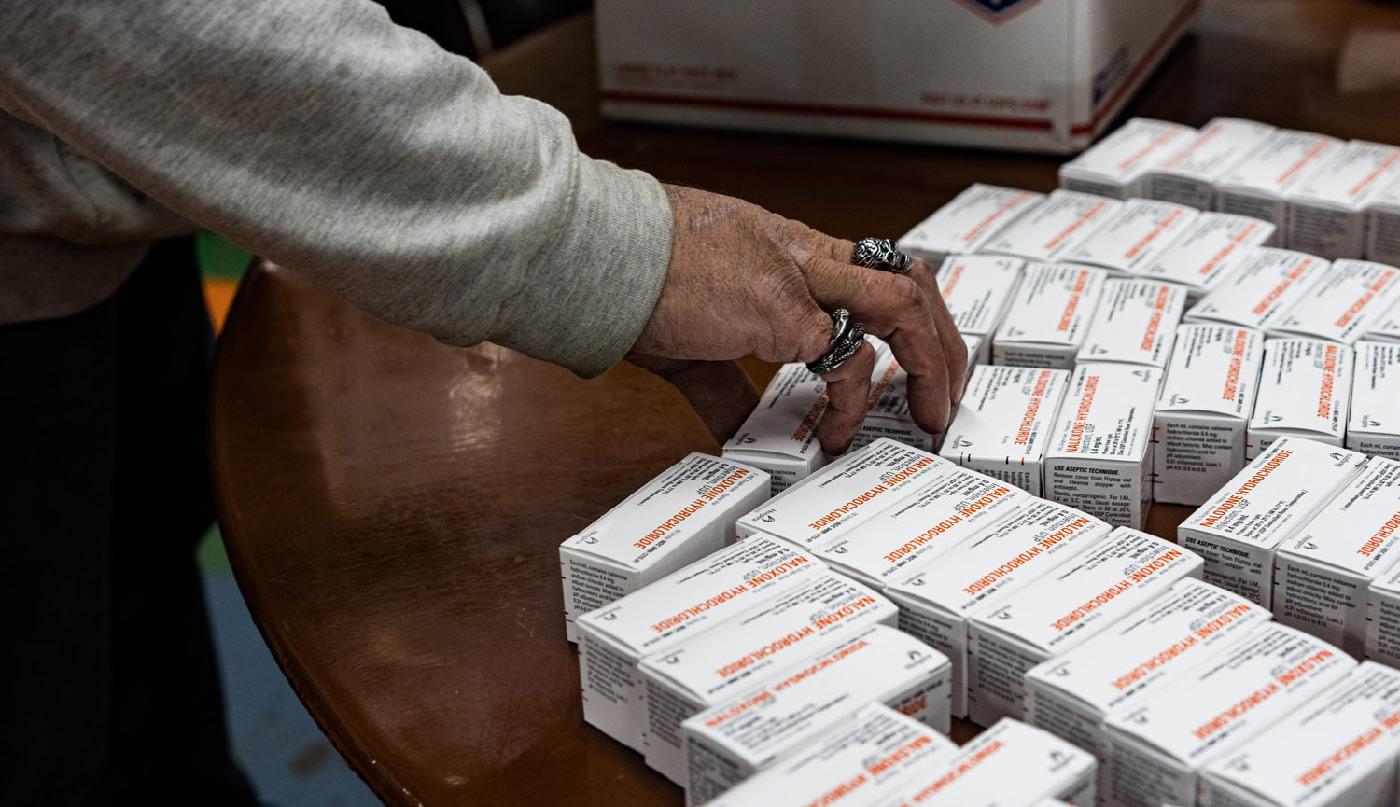 Overdose prevention in a time of COVID